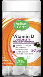 Active Care Vitamin D tuggtablett